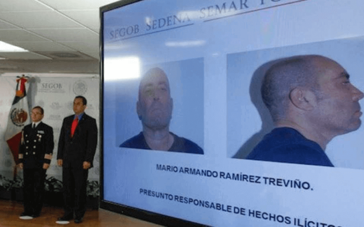 Former Gulf Drug Cartel leader Mario Ramirez surrendered to the U.S