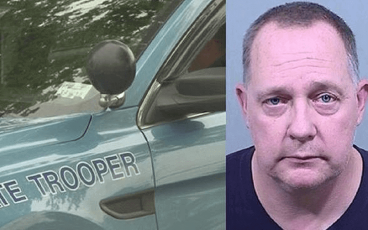 Retired Maine state trooper arrested for trafficking cocaine and fentanyl