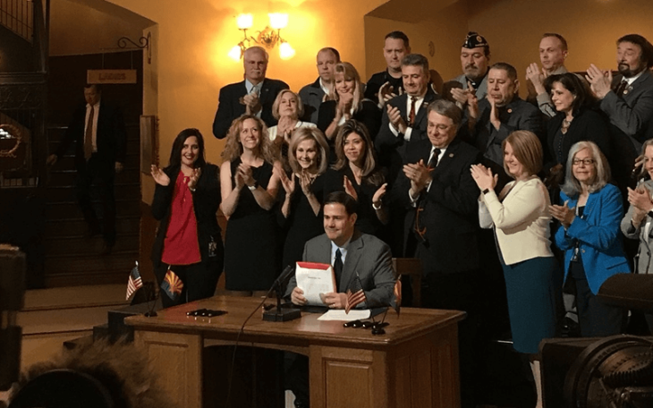 Arizona governor Doug Dicey signs law to combat opioid abuse