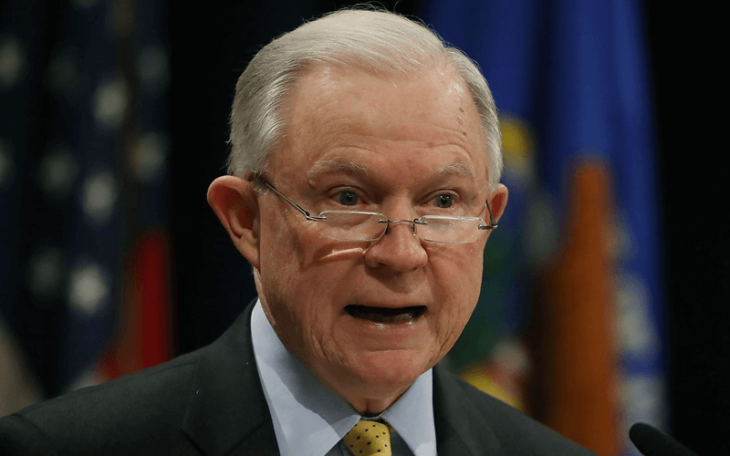 jeff sessions pushes back on legal marijuana