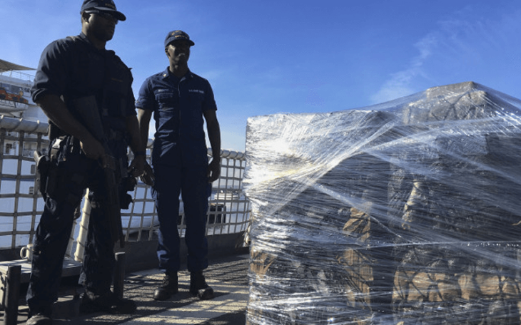 Coast Guard offloads $721 million worth of cocaine seized since November