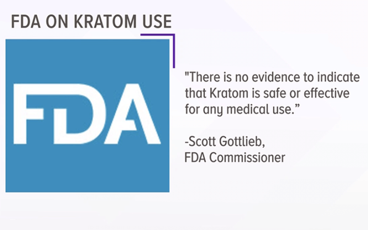 FDA declares Kratom a health risk