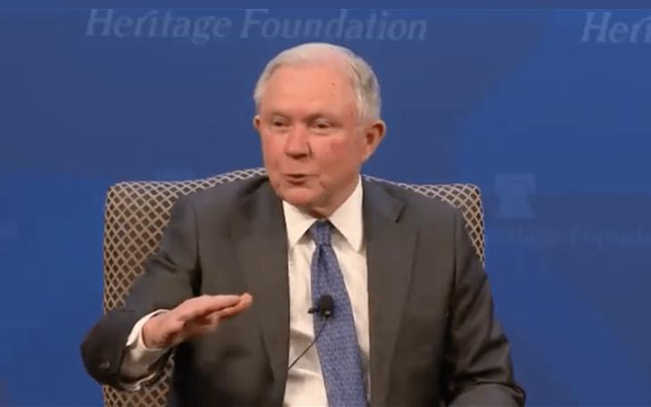 Jeff Sessions says marijuana caused opioid crisis