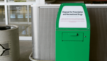 Vegas airport installs drug amnesty trash cans for departing tourists