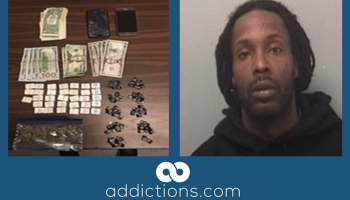 Man arrested in church with 328 bags of heroin