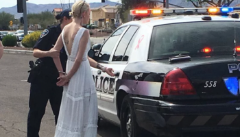 Bride busted for DUI on way to wedding
