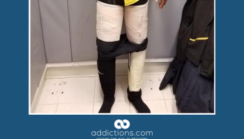 Aircrewman hides 9 pounds of cocaine in his pants