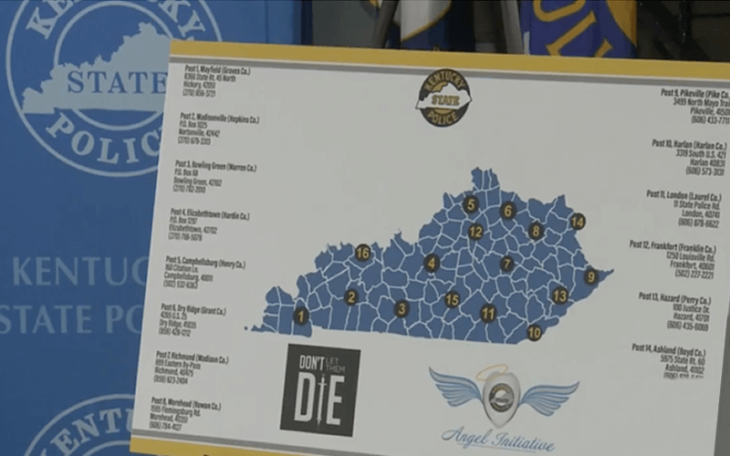 Kentucky Police connect addicts to treatment centers in radical program