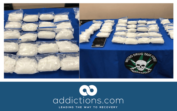 Police arrested mother and son seizing millions of dollars worth of meth