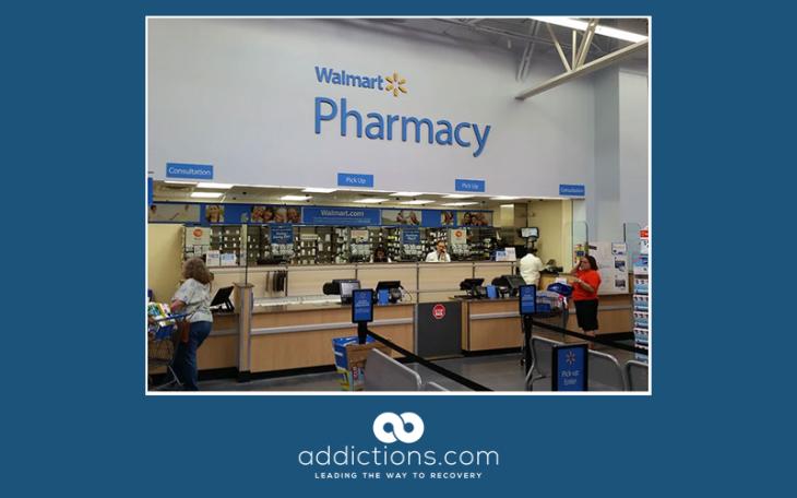Walmart limits opioid prescriptions to seven day supply