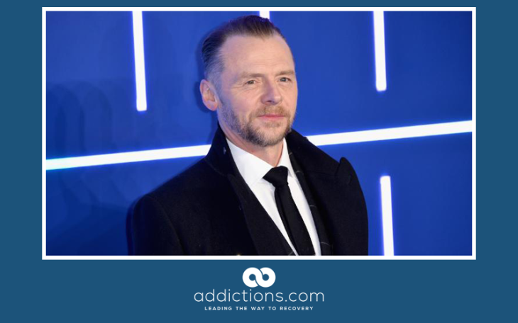 Simon Pegg opens up about battle with alcoholism and depression