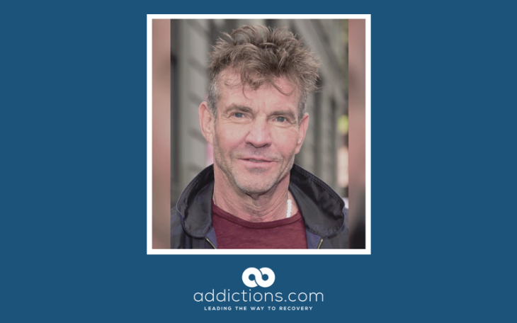 Dennis Quaid opens up about struggles with cocaine addiction in the 80s