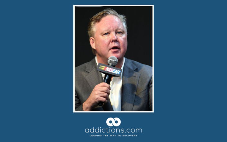 Nascar CEO Brian France arrested for DUI and possession of oxycodone