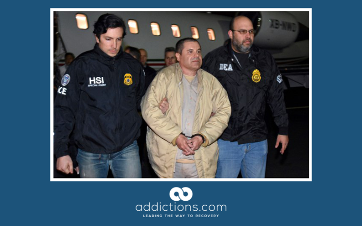 Cocaine drug lord El Chappo awaiting trial in Brooklyn NY