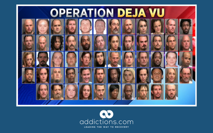 Arrest warrants issued for 58 people in Georgia drug bust