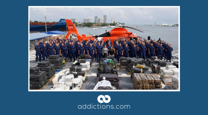 19,000 pounds of cocaine stopped by Charleston-based coast guard