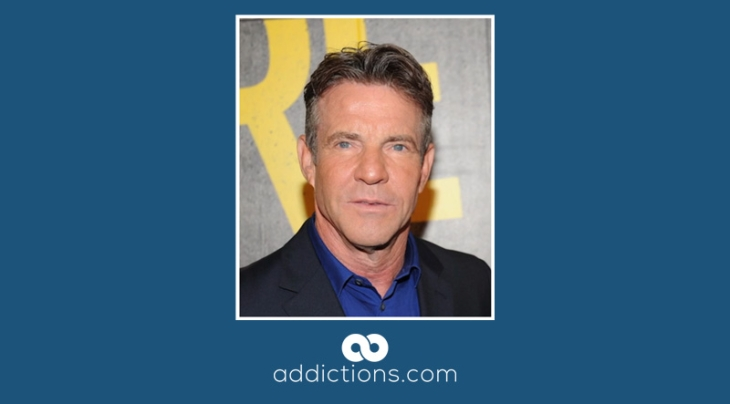 Dennis Quaid admits to using 2 grams of cocaine daily in the past