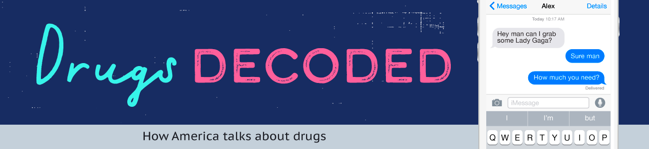 Drugs Decoded - Street Names for drugs and common code words