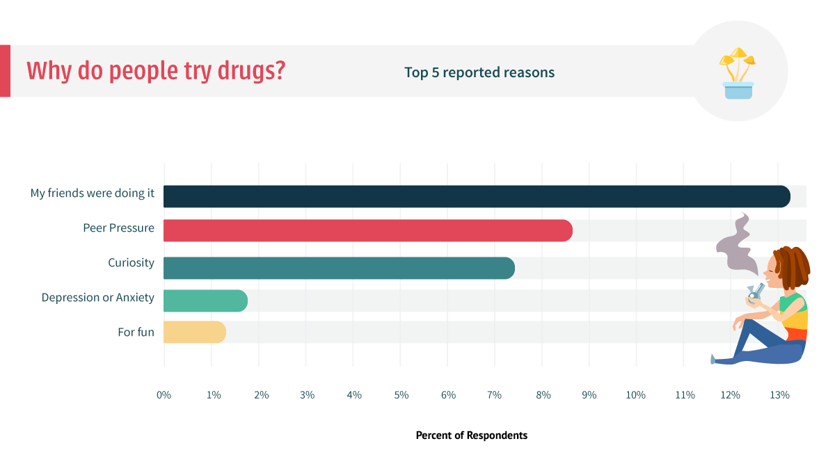 Who do People Use Drugs?